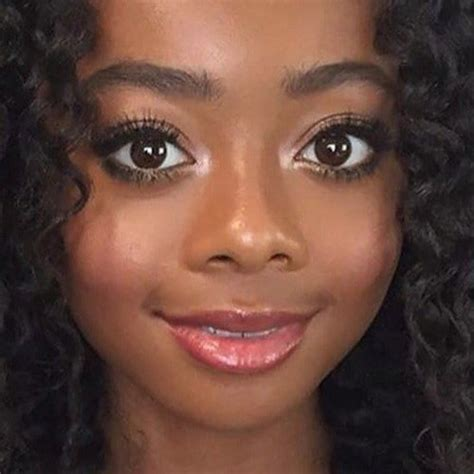 skai jackson s makeup photos products style