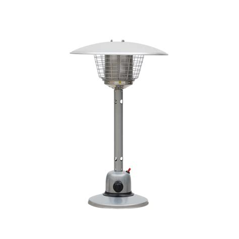 Table Top Heater by Fiammetta Powder Coated Table Top Gas Outdoor Heater