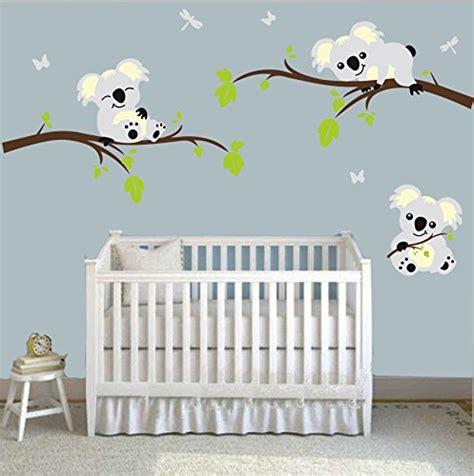 Wall Decor Stickers Large Koala Tree Branch Wall Decals Tree Branch Wall Decal Nursery
