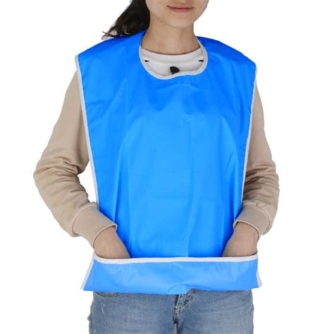 Banglegelang Fashion Import G 046 large waterproof mealtime bib protector disability aid clothes washable ebay