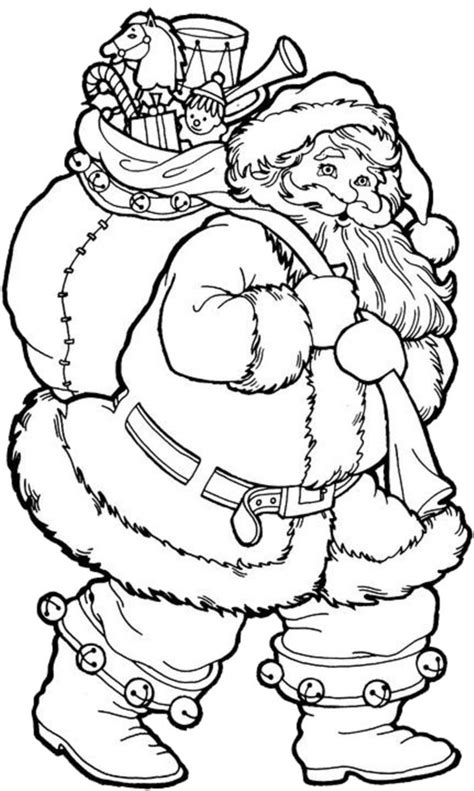 large santa coloring page coloring pages christmas coloring pages printable santa
