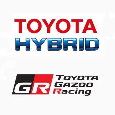 toyota hybrid logo toyota gazoo racing wec toyota hybrid twitter