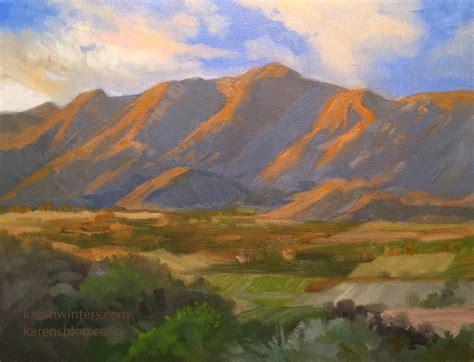 impressionist landscape painting winters california impressionist paintings
