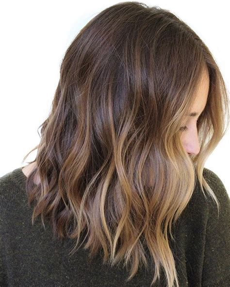 medium balyage hairstyles balayage for medium length hair sa 231 stilleri pinterest