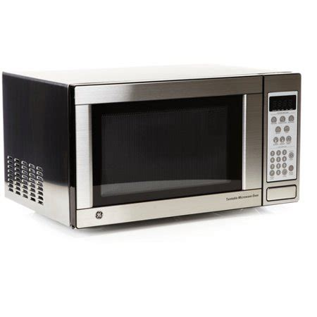 Walmart Countertop Microwave Ovens by General Electric Ge 1 1 Cu Ft Stainless Steel Microwave
