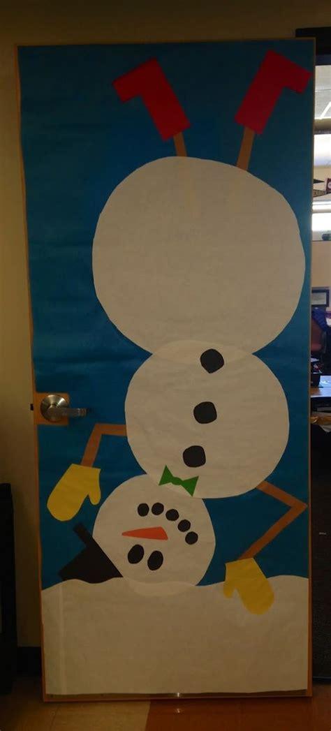 winter door decorations for preschool winter snowman classroom door classroom door decor