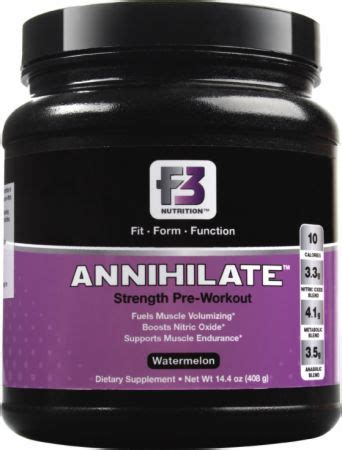 f 10 supplement reviews f3 nutrition annihilate review