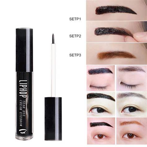 tattoo eyebrows peel off aliexpress com buy peel off eyebrow tattoo gel makeup