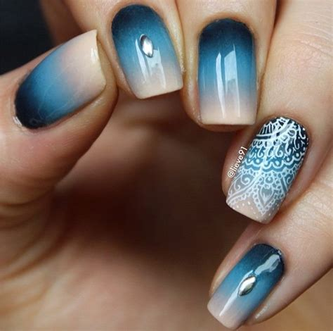 ombre pattern nails latest nails fashion of ombre nail designs 2017