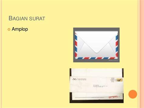 Tulisan Depan D Lop Lamaran Kerja by Bhs Indonesia Surat