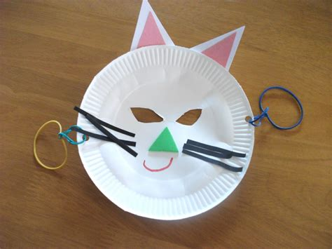 Mask From Paper Plates - preschool crafts pics preschool crafts for paper