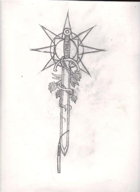 sword art online tattoo sword of idea by solidsmith deviantart