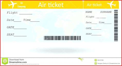 boarding card template word boarding pass template word