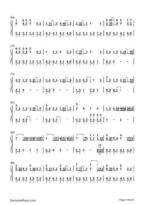kana nishino motto motto more kana nishino numbered musical notation