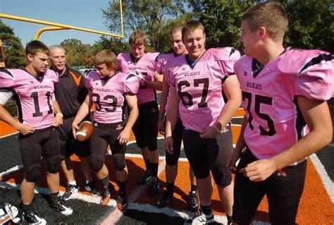 schurr high school football coaches libertyville high football team going pink