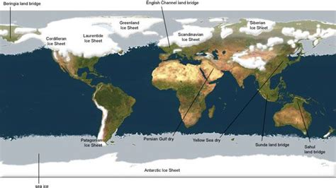 historical maps   ice age planetary visions