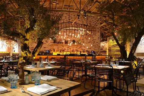Wrought Iron Outdoor Chandelier Herringbone Restaurant La Jolla Ca By Schoos Design