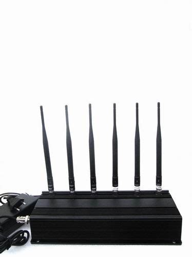 discount china wholesale 5 antenna 25w high power 3g cell phone wifi jammer with outer