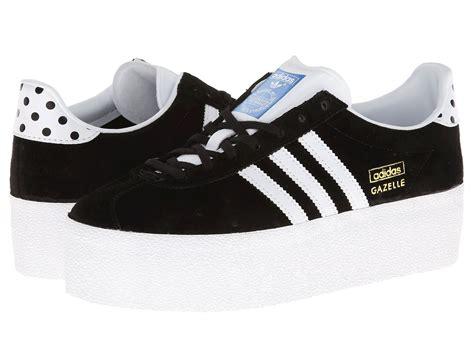 adidas originals gazelle og platform up ef black white