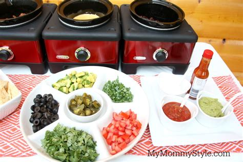 build your own nacho bar my mommy style
