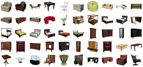 furniture items featured products and materials 3dream net