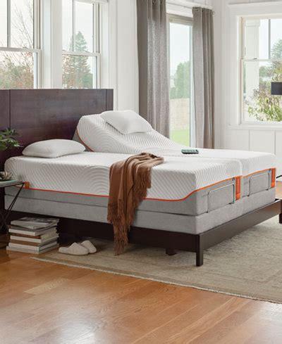 tempur pedic ergo premier gray adjustable beds mattresses macy s