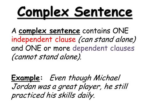 compound and complex sentences ppt video online download