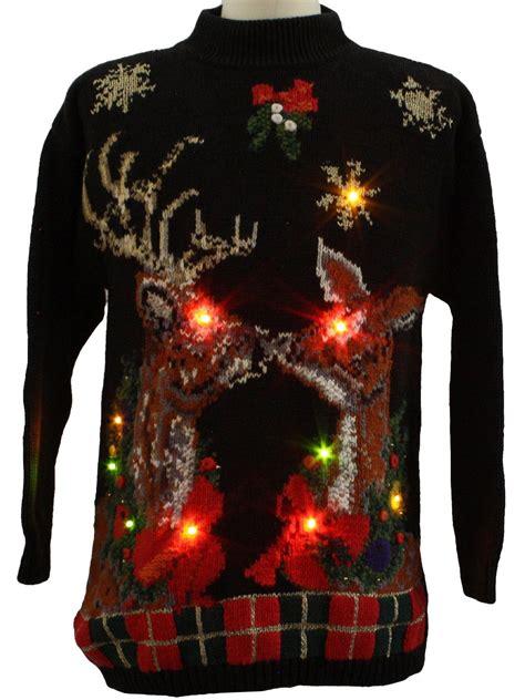 Galli Sweater lightup sweater p galli unisex black