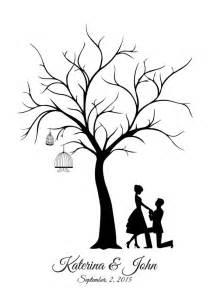 Wedding Tree Template by Canvas Wedding Tree Guest Book Groom