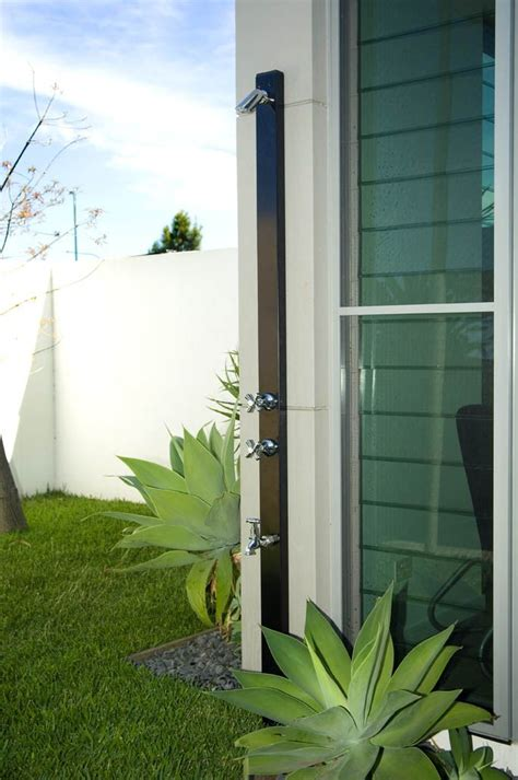 rainware outdoor showers small space no problem look no further than rainware s