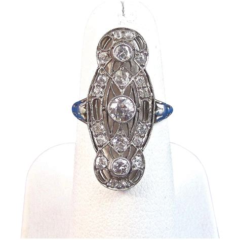 Art Deco 1920's Diamond Engagement Wedding Anniversary