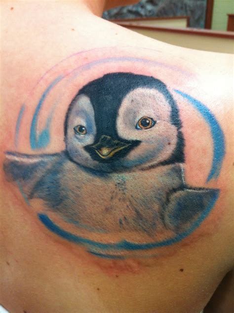 cute penguin tattoo designs smiling penguin idea tattooimages biz