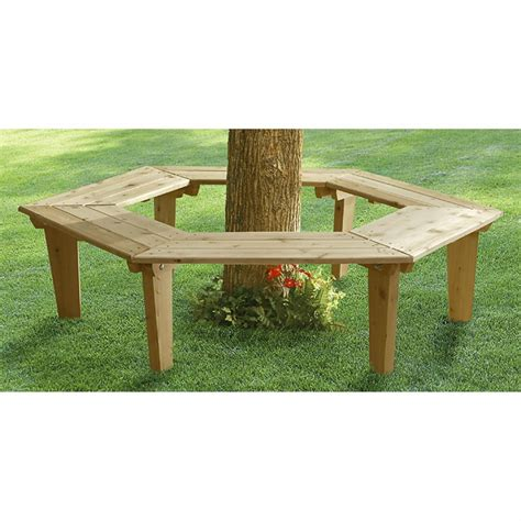 around tree bench small cedar around the tree bench 92227 patio furniture