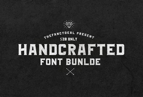 Handcrafted Font - handcrafted font bundle thefancydeal