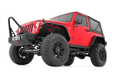 Jeep Jk Steel Fenders Country Front Steel Inner Fenders Liners 07 17