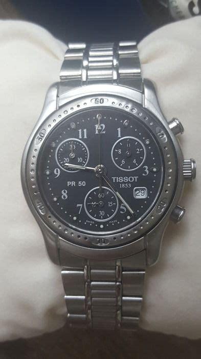 tissot pr chronograph herenhorloge catawiki