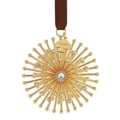 kate spade new york bejeweled starburst christmas ornament