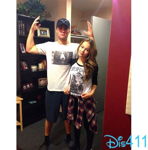 Carpenter Style House by Pic Kelli Berglund And Spencer Boldman With Bear Shirts