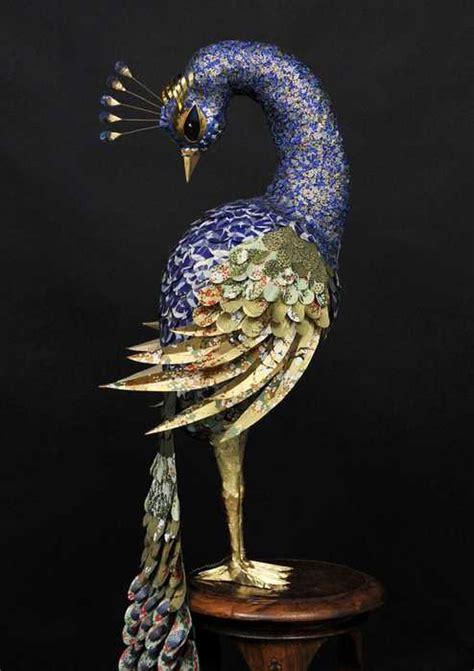 spectacular  birds sculptures  julie wilkinson