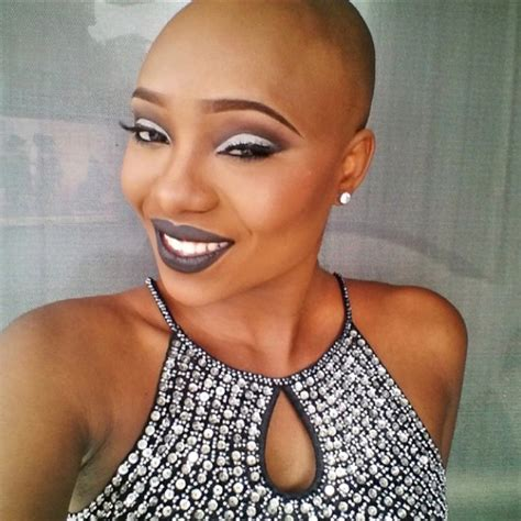 beautiful black bald women with leak hairstyles for black female balding hair hairstyles
