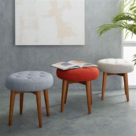 West Elm Garden Stool by Best 25 Upholstered Ottoman Ideas On Diy