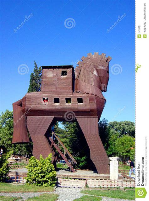 home paard van troje paard van troje stock afbeelding afbeelding bestaande uit