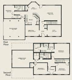 4 bedroom floor plans 2 story 2 story 4 bedroom house floor plans escortsea