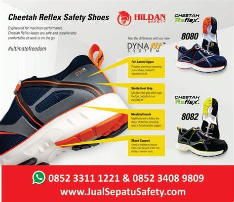 Sepatu Safety Cheetah 3288c toko sepatu safety cheetah refleks jualsepatusafety