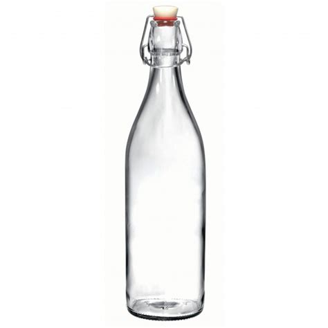 bormioli rocco swing top glass bottle bormioli rocco giara glass bottle with stopper clear