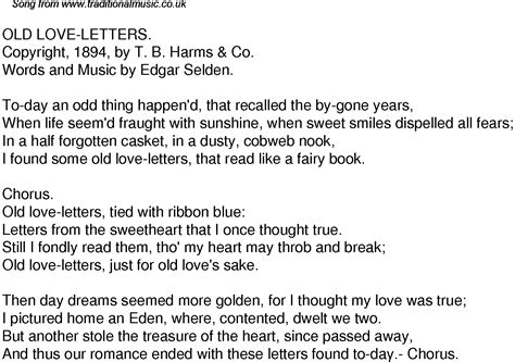 Letter Song Lyrics Letters Lyrics Levelings