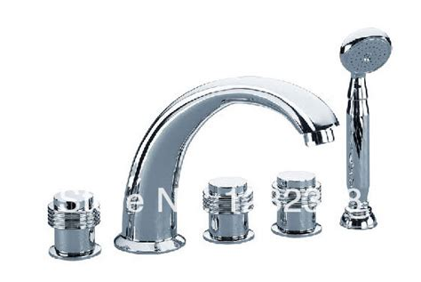 free shipping widespread jacuzzi waterfall tub faucet