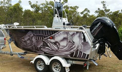 boat wraps darwin boat wraps fishwreck fishing apparel and boat wraps