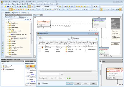 software for er diagram database entity relationship diagram software best