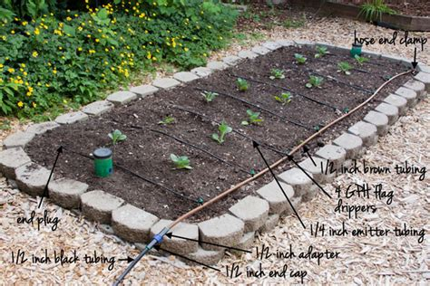 Garden Irrigation Watering Drip Irrigation Rake And Make